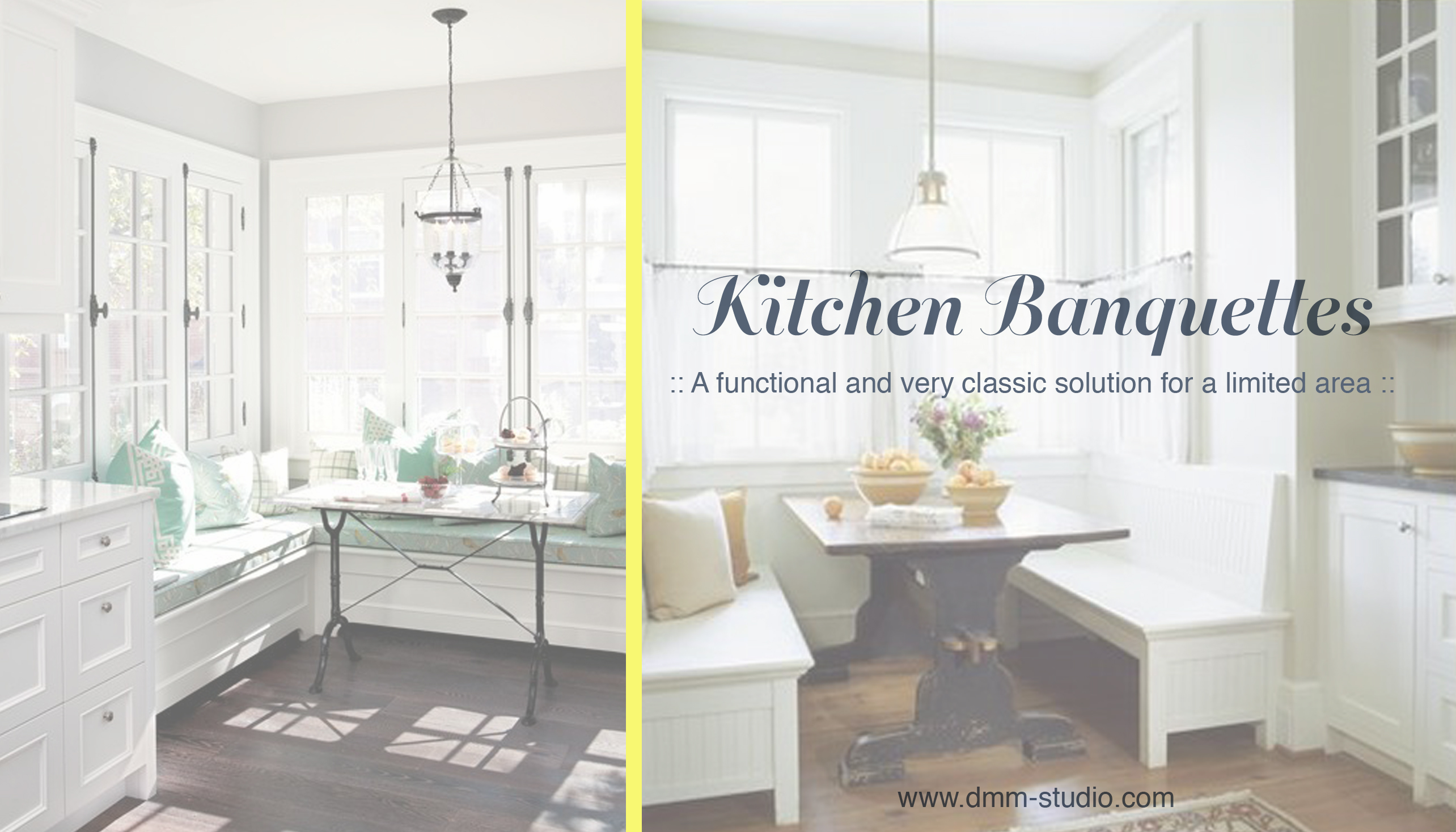Designer's Insight: Kitchen Banquettes