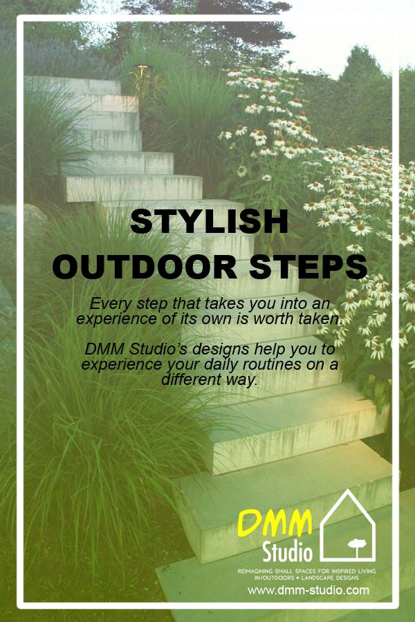 Stylish Outdoor Steps