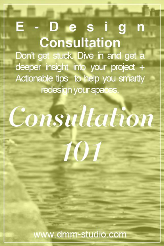 Consultation 101